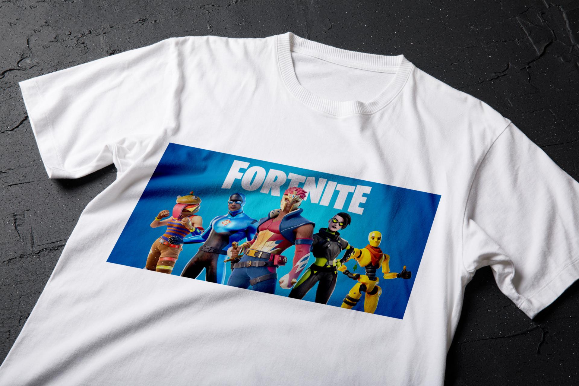 tricou personalizat fortnite