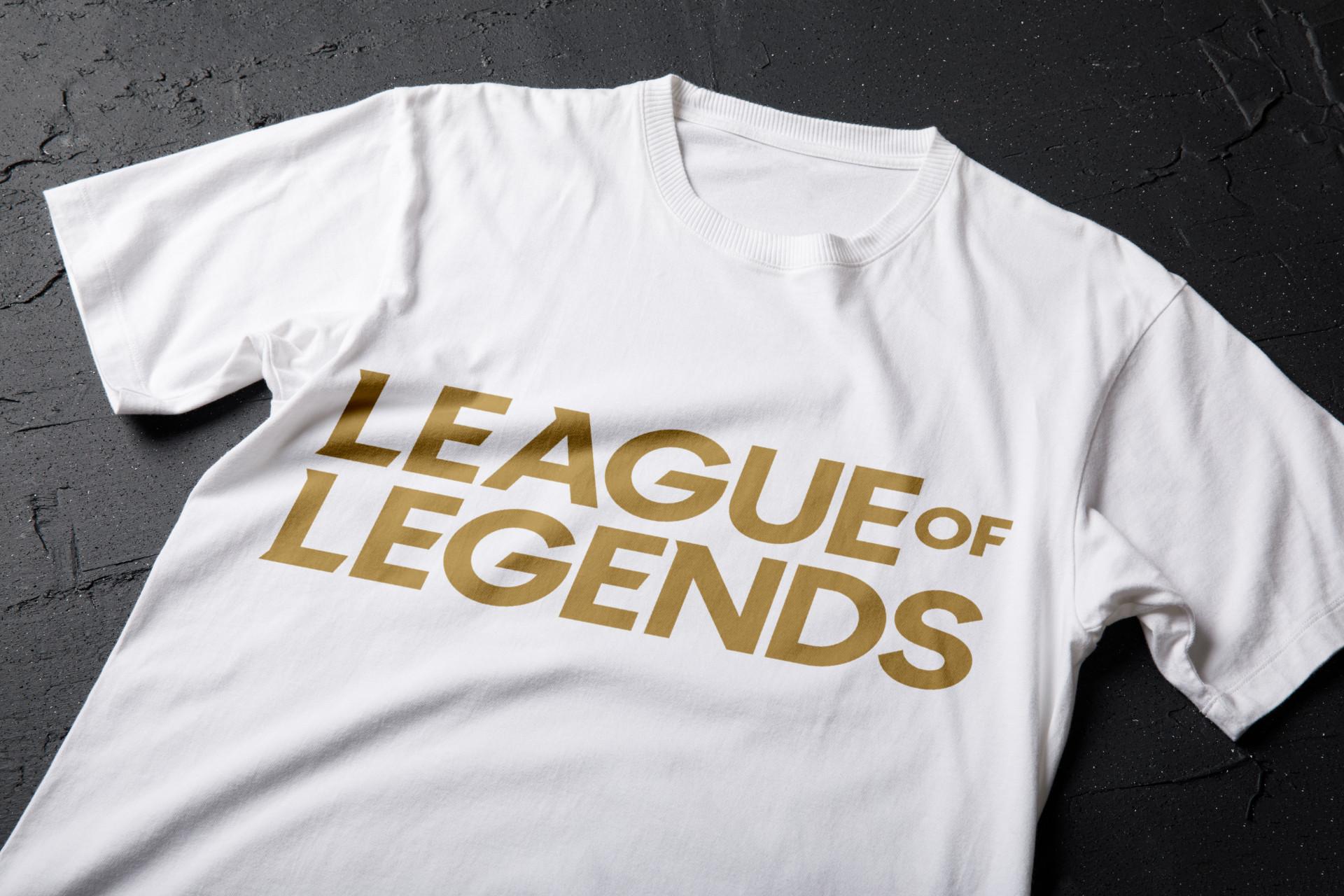 tricou personalizat model league of legends