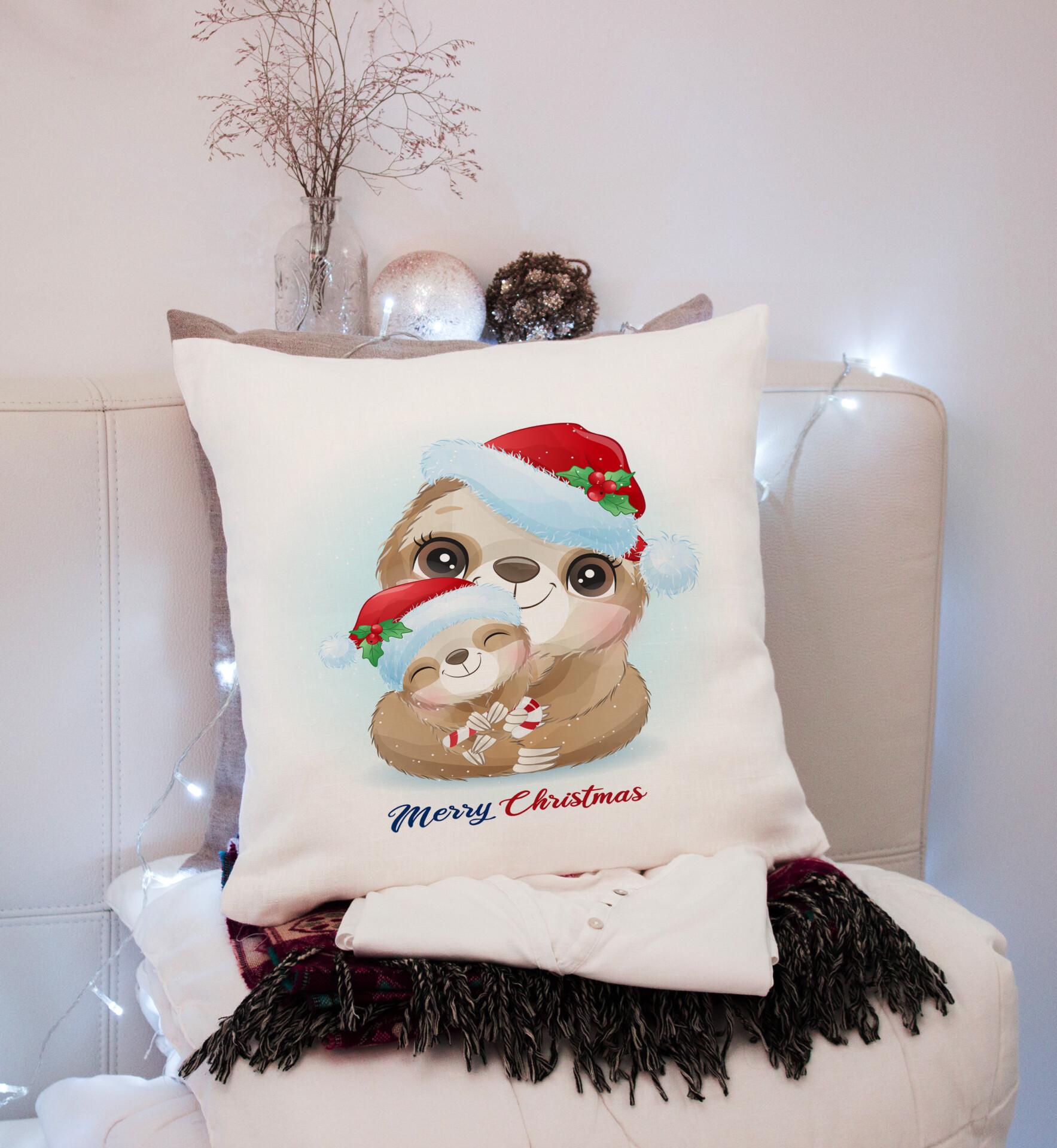 perna personalizata merry christmas