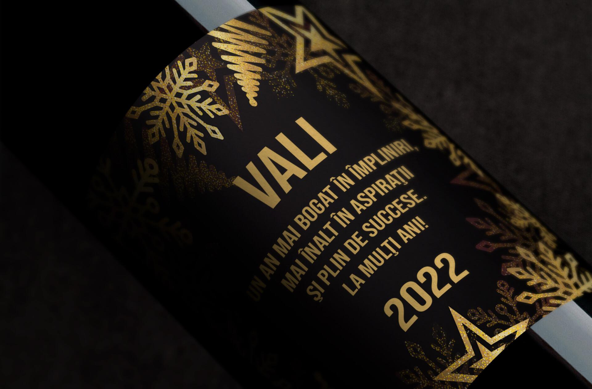vin personalizat cu nume si an